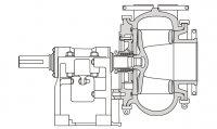 Тяжелые багерные насосы (илососы) серии ДАКТ-Инжиниринг
