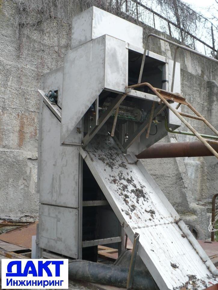Механическая решетка в защитном исполнении для работы на открытом воздухе.