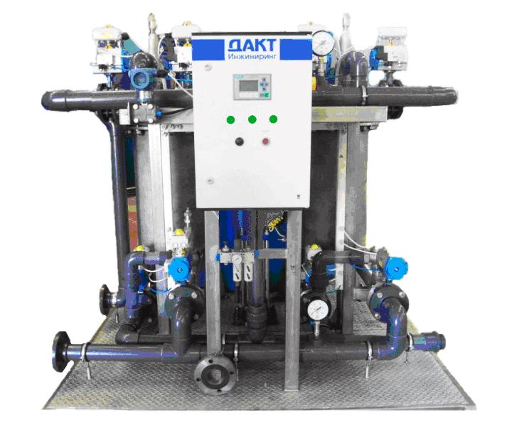 Автоматический самопромывной фильтр для сетей с давлением до 6 бар